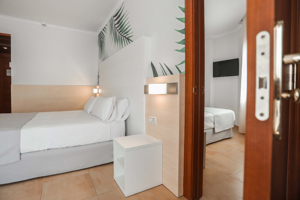 Communicated Double Room with Balcony