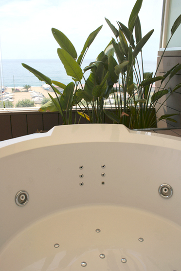 Superior Room with Whirlpool on the Terrace with view