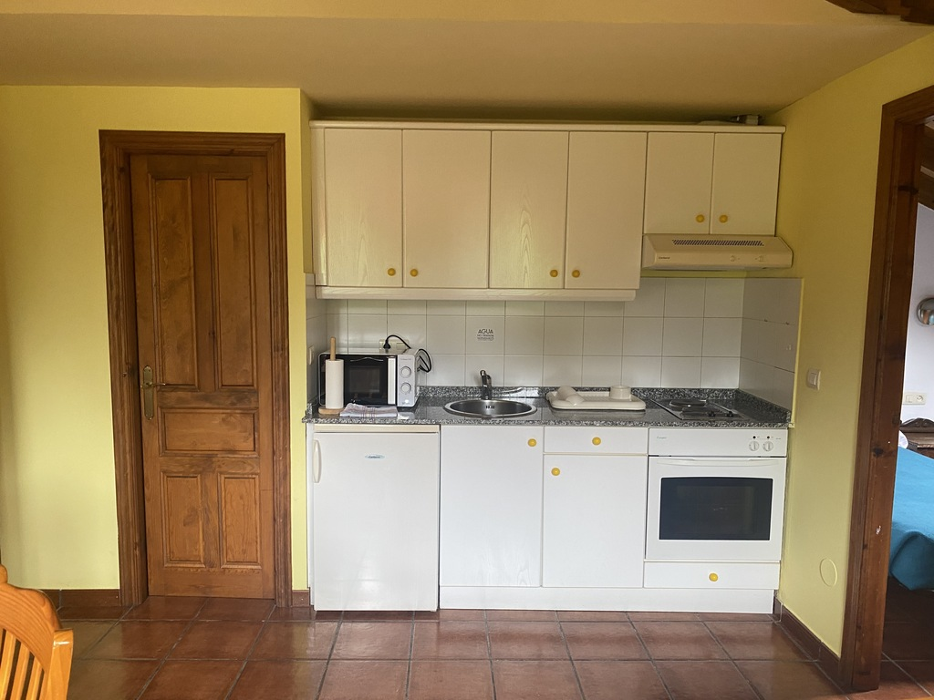 1 bedroom apartment with two single beds + double bed + sofa bed