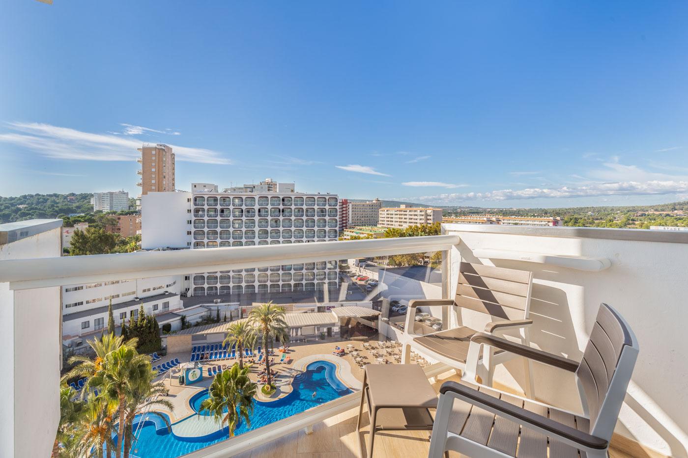 Standard pool view