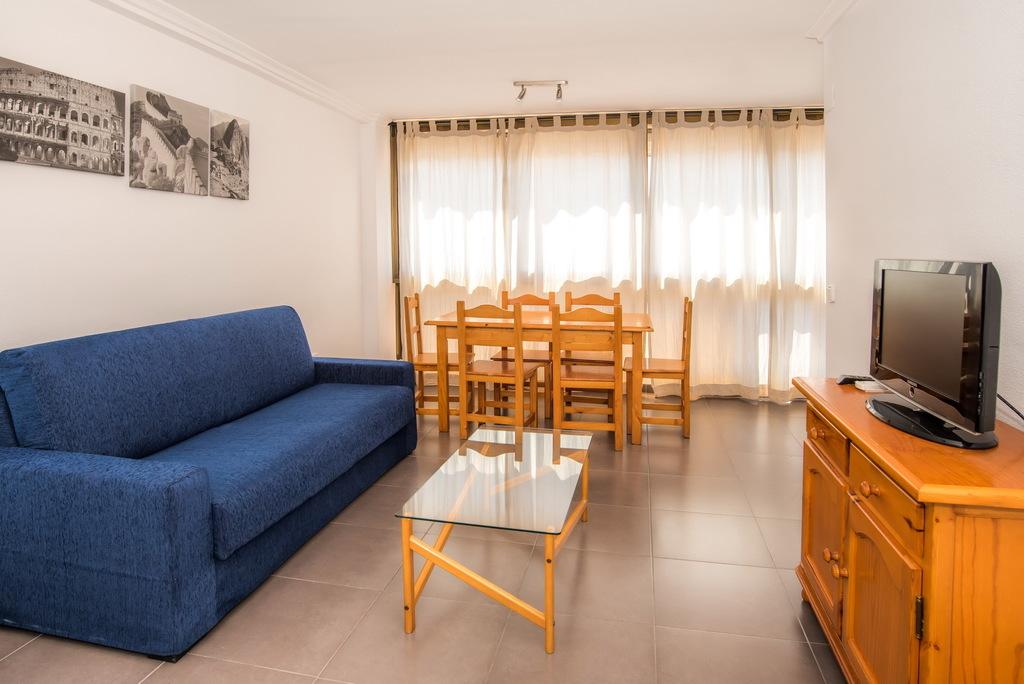 Apartamento Estándar 1 Dormitorio Terraza Acristalada