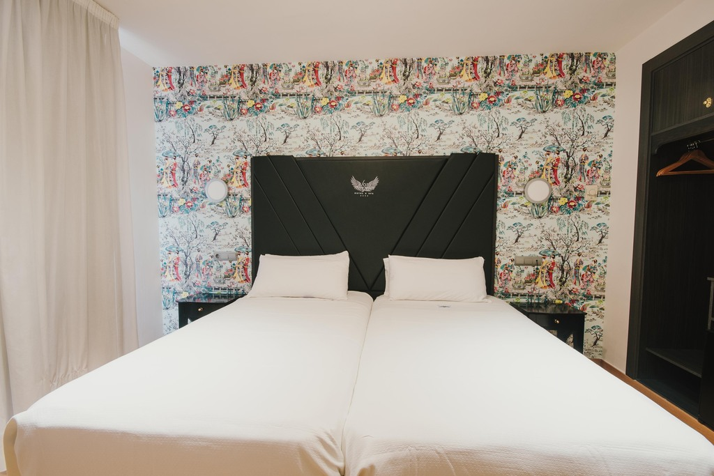 Chambre Double avec Balcon, lit double ou 2 lits