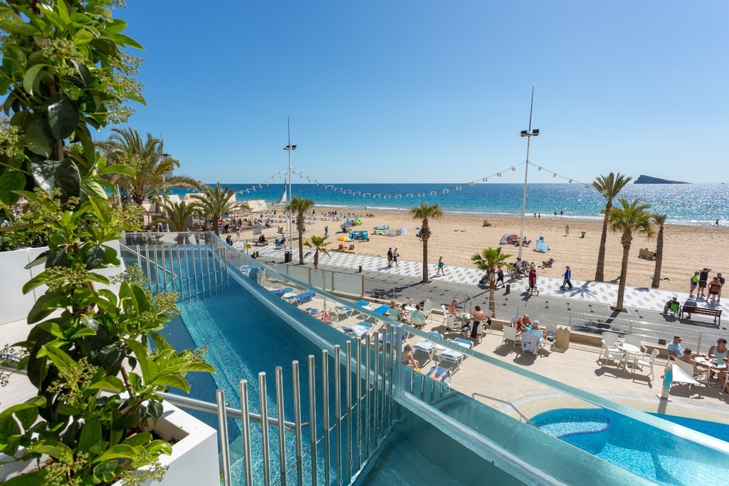 Deluxe Room with Private Pool - Hotel Cimbel Benidorm