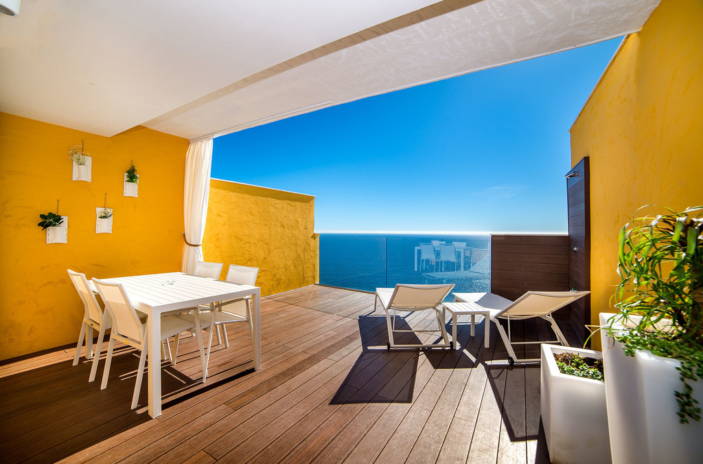1-Zimmer Appartement mit Blick aufs Meer Premium