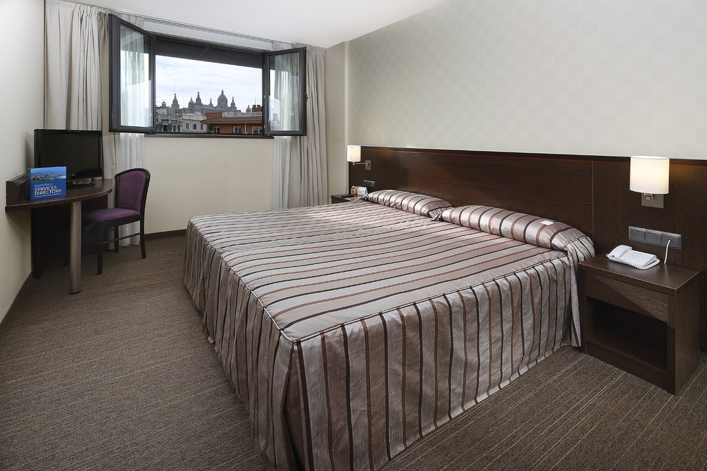 double room 1 or 2 beds hcc hotels barcelona