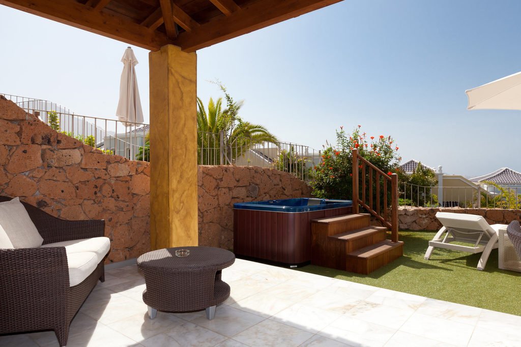 Villa mit einem Schlafzimmer mit Jacuzzi - Hotel Suite Villa María Adeje