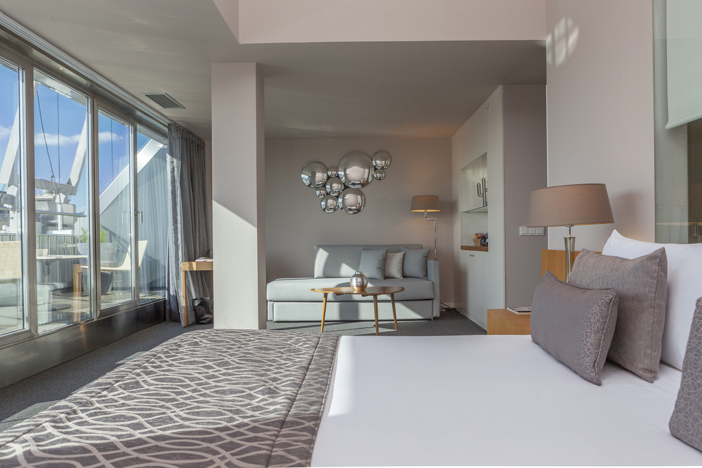 Chambre Royal Deluxe avec terrasse
