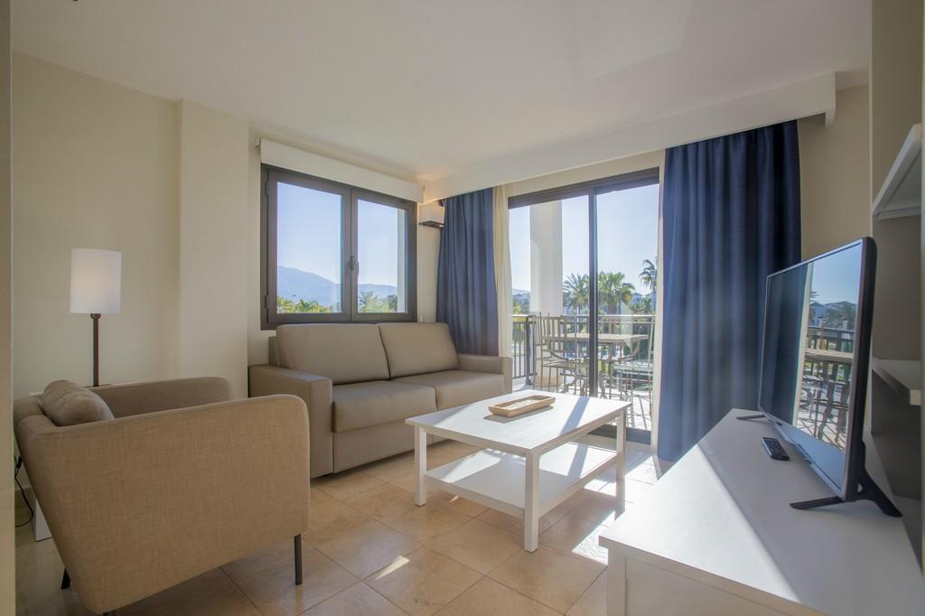 Duplex suite apartment