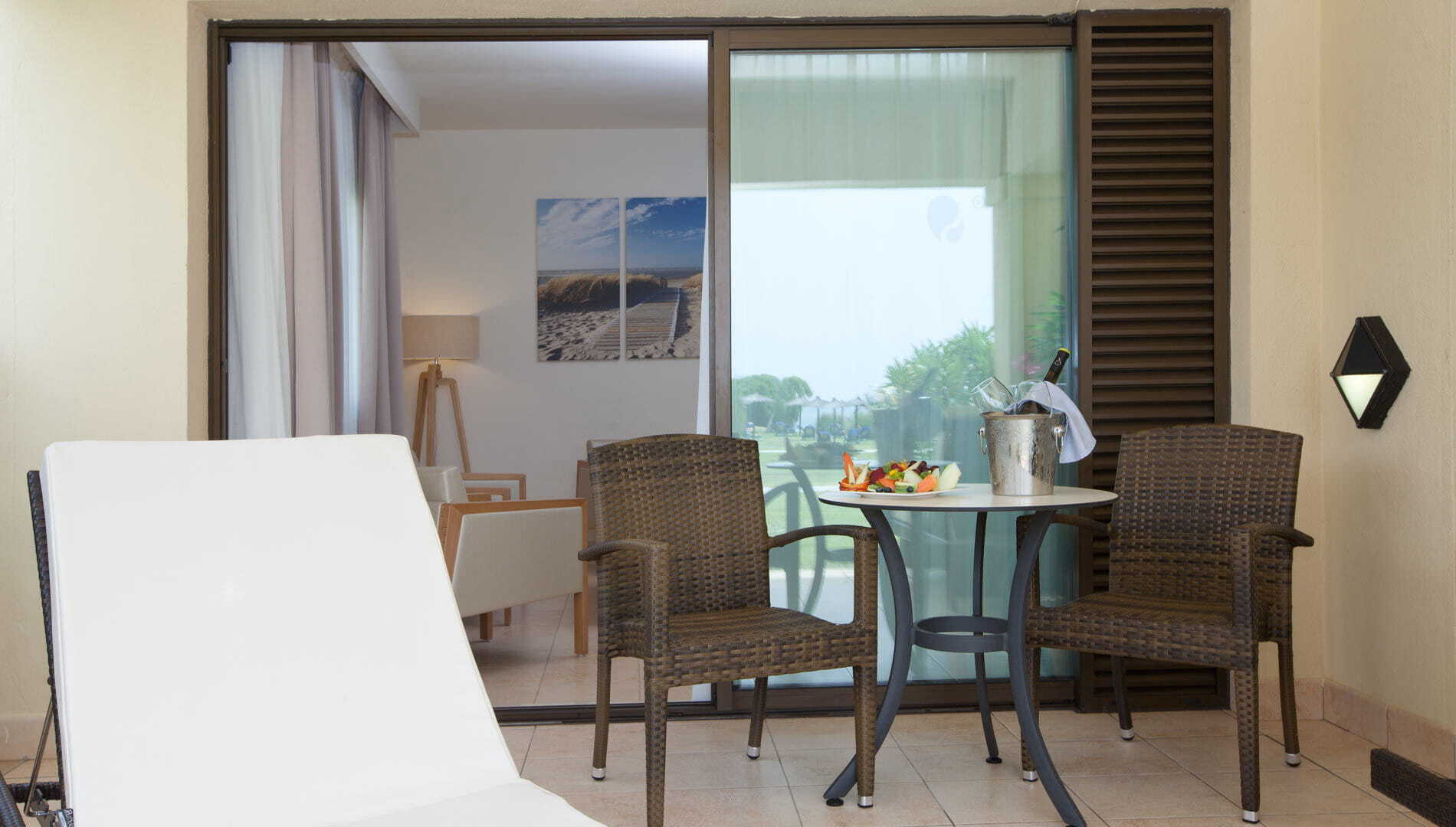 Interconnected Double Room