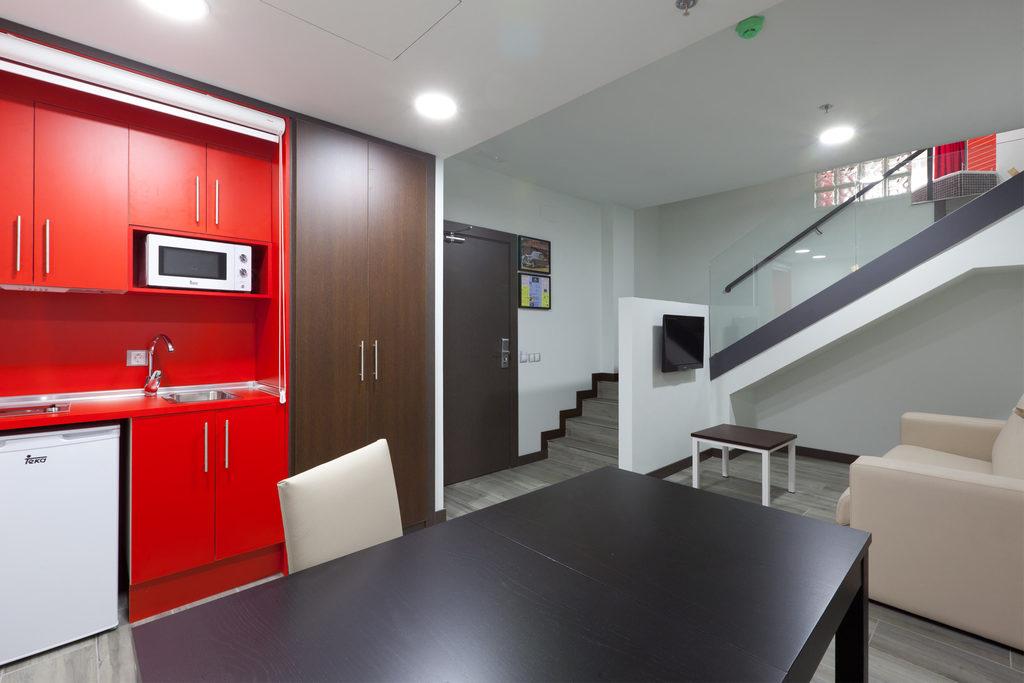 Habitación Doble con salón y jacuzzi