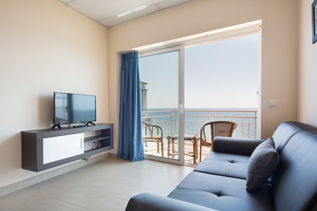 Sea view apartment (4 adults)