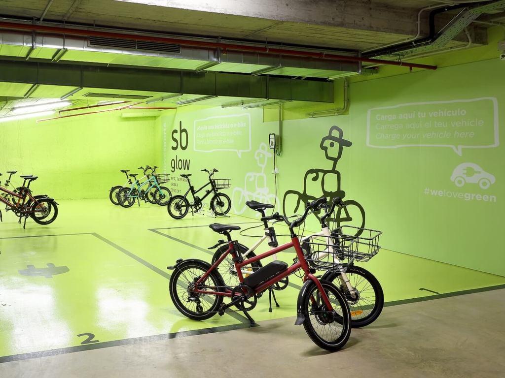 Barcelona with e-bike
