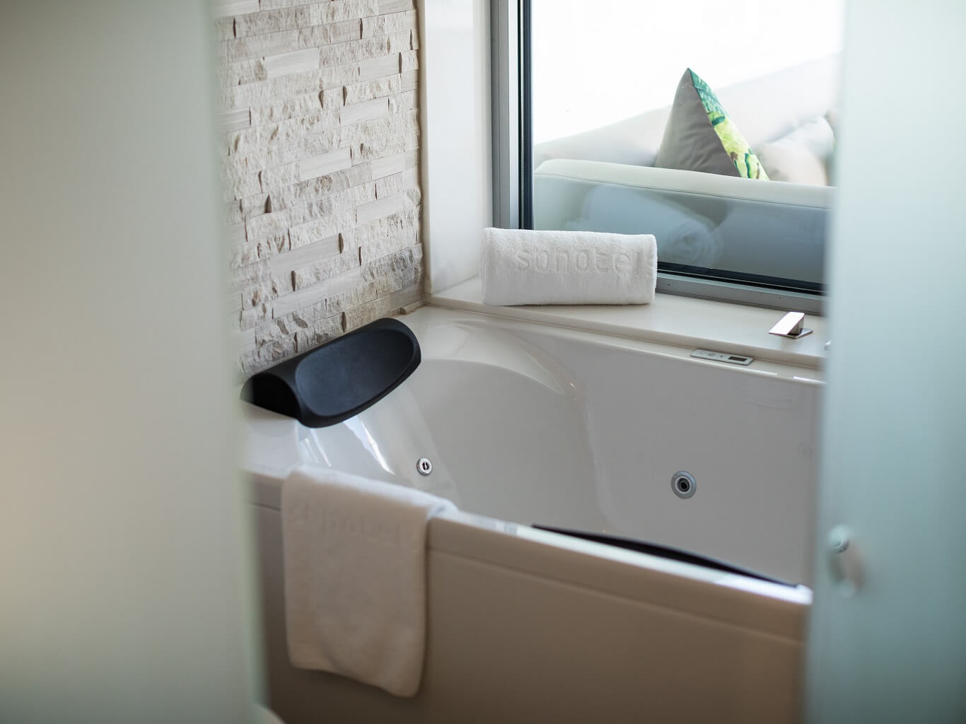 Suite Terrace Hydromassage Bathtub