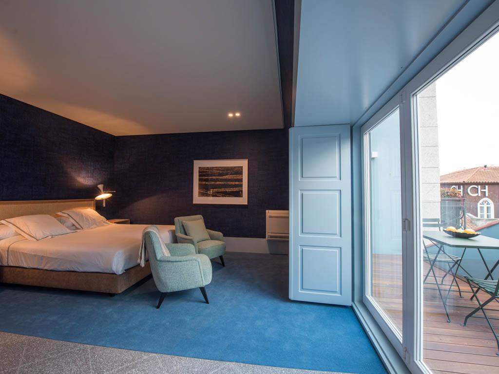 Apartamento para 2 pessoas com terraço