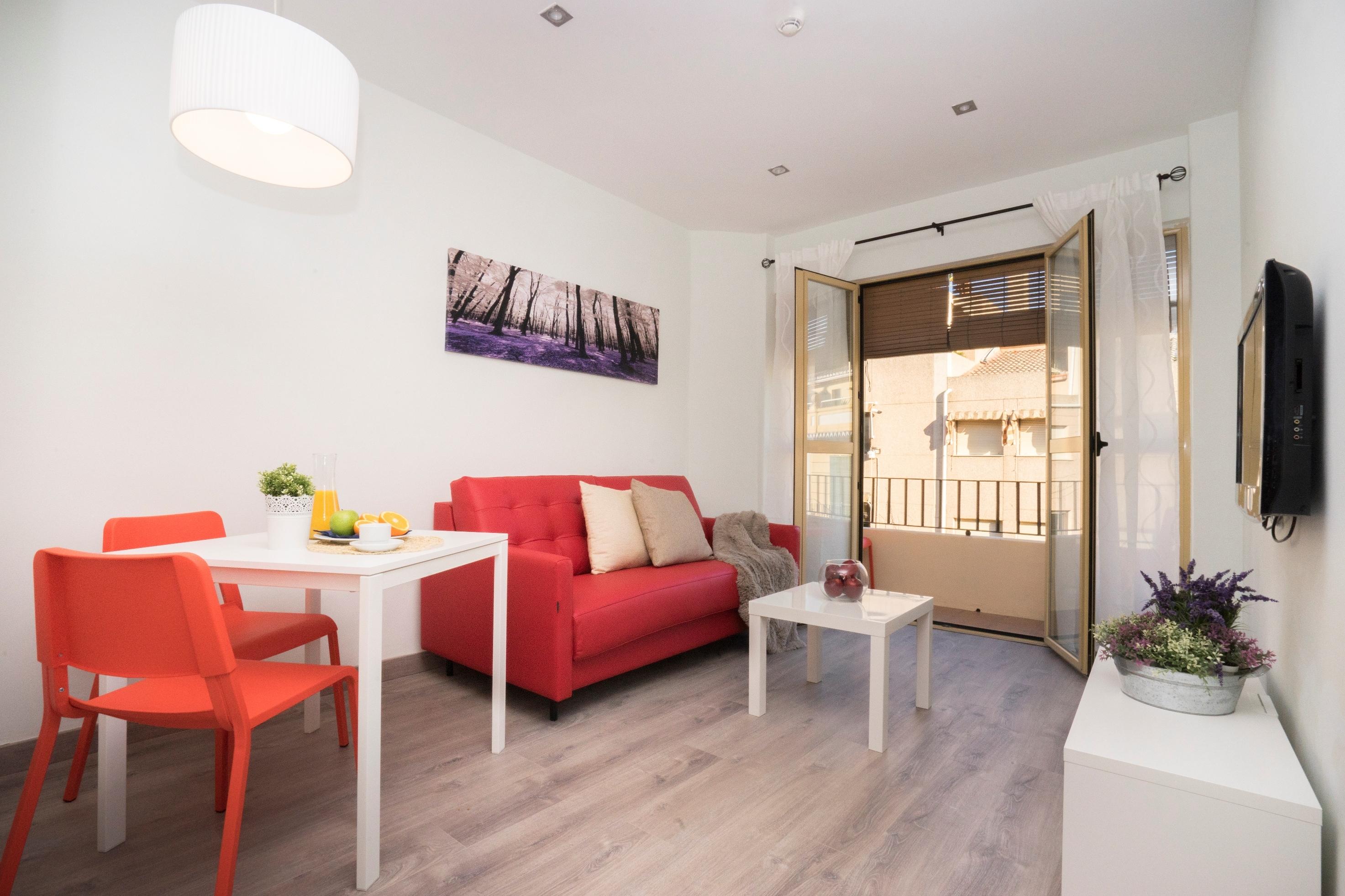 Apartment with balcony 1C