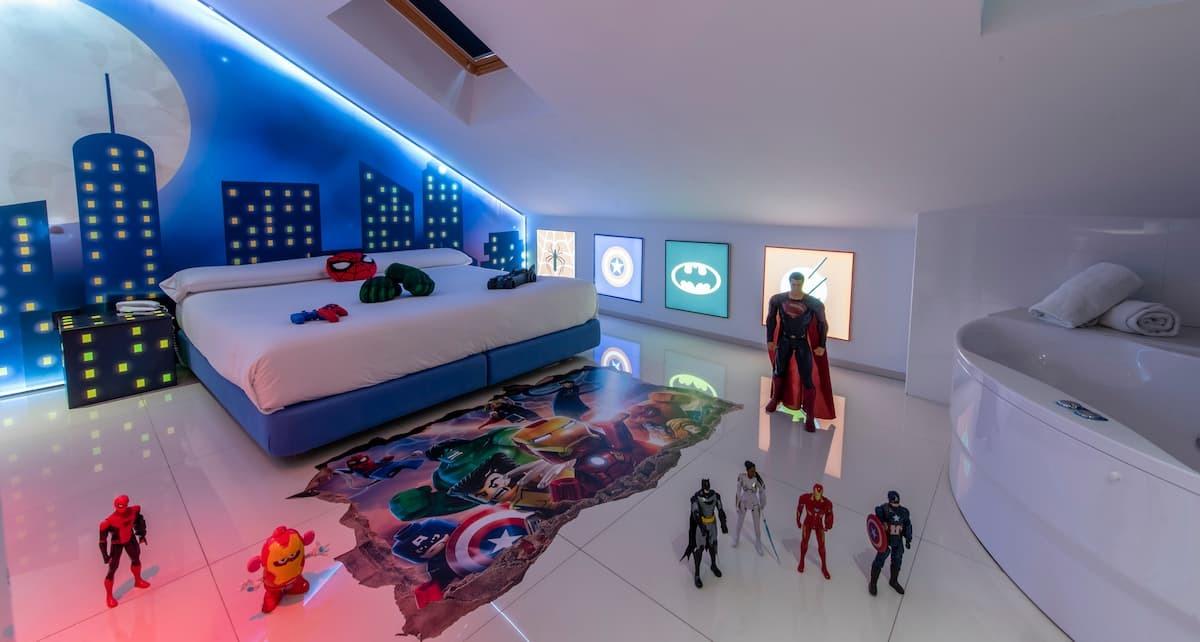 Superheroes Room