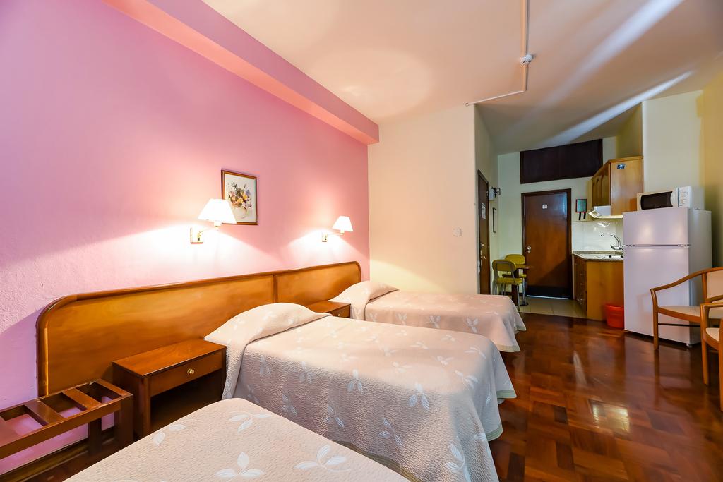 Apartment 1 room 4 pax