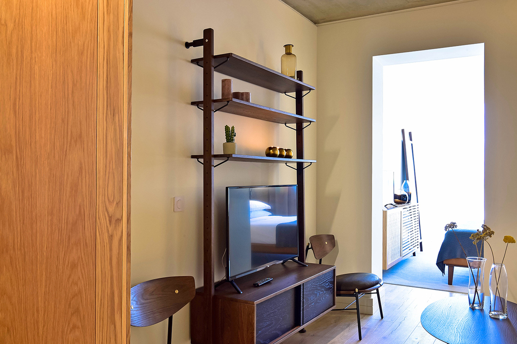 Studio-Apartment mit Blick auf Santa Catarina