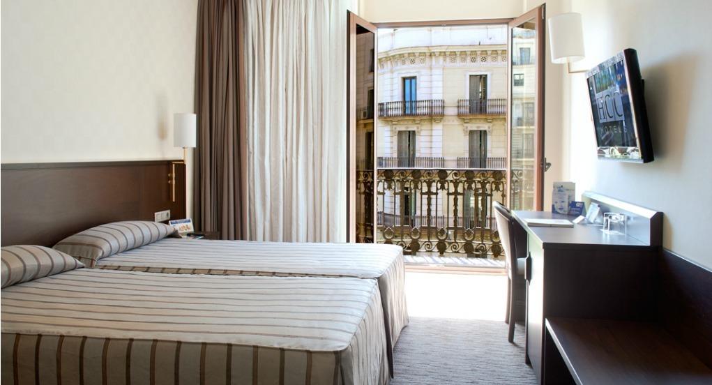 Habitación Doble vistas Rambla Catalunya