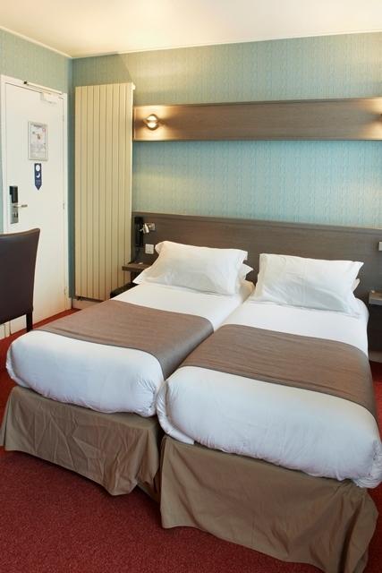 Quarto duplo (2 camas individuais)