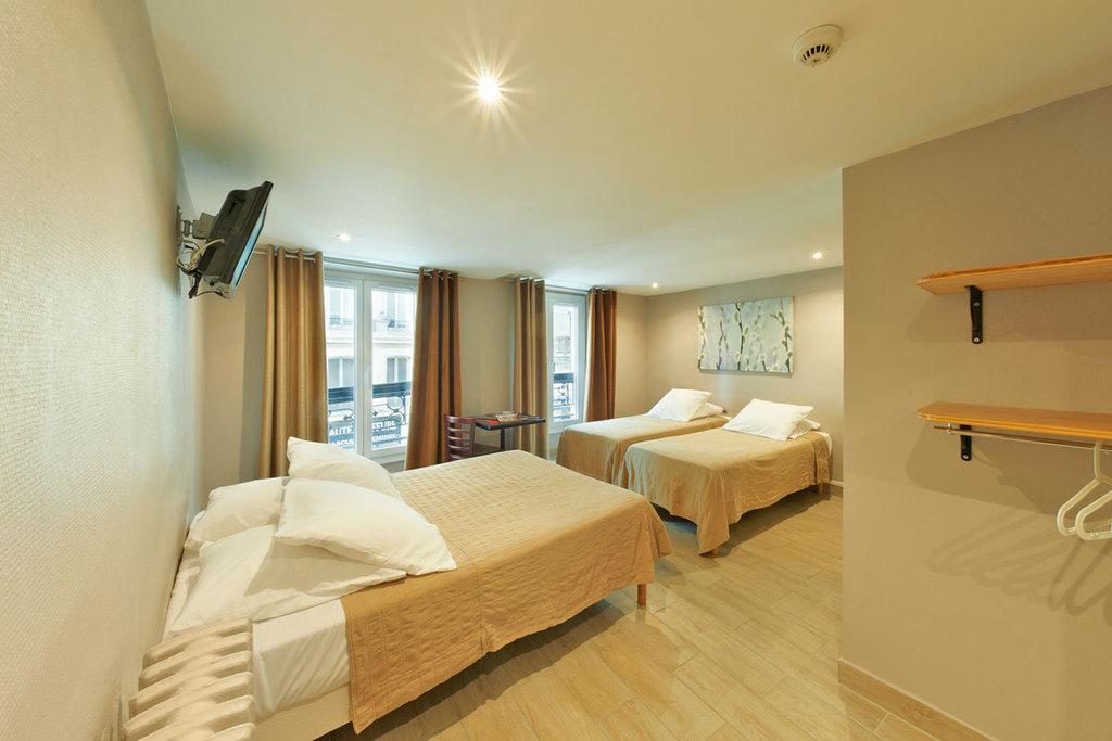 Chambre Quadruple Hotel Montmartre Clignancourt Paris