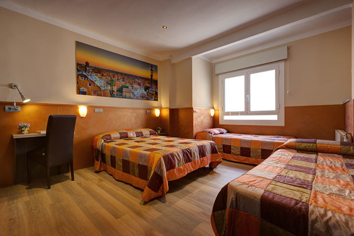 Triple (3 camas individuales)