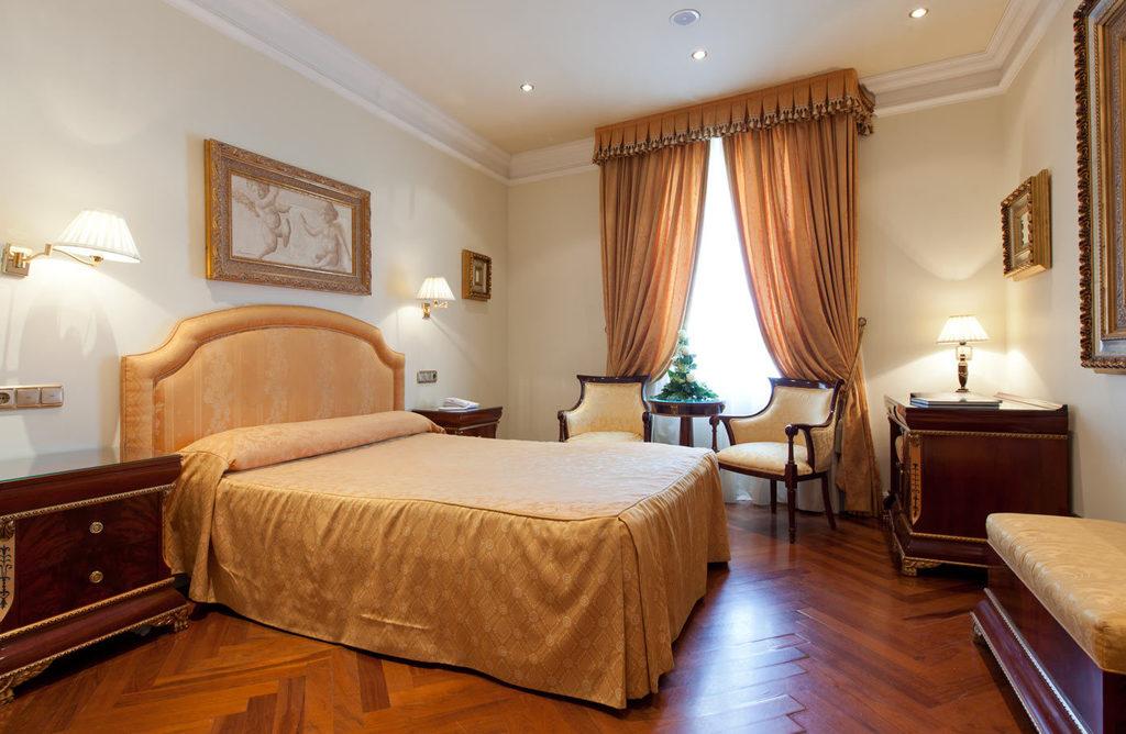 Doble cama de matrimonio con vista panorámica