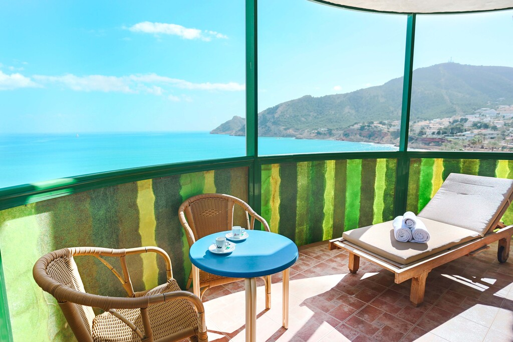 Presidential Suite with Hydromassage & Terrace sea view