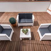 Doble con terraza