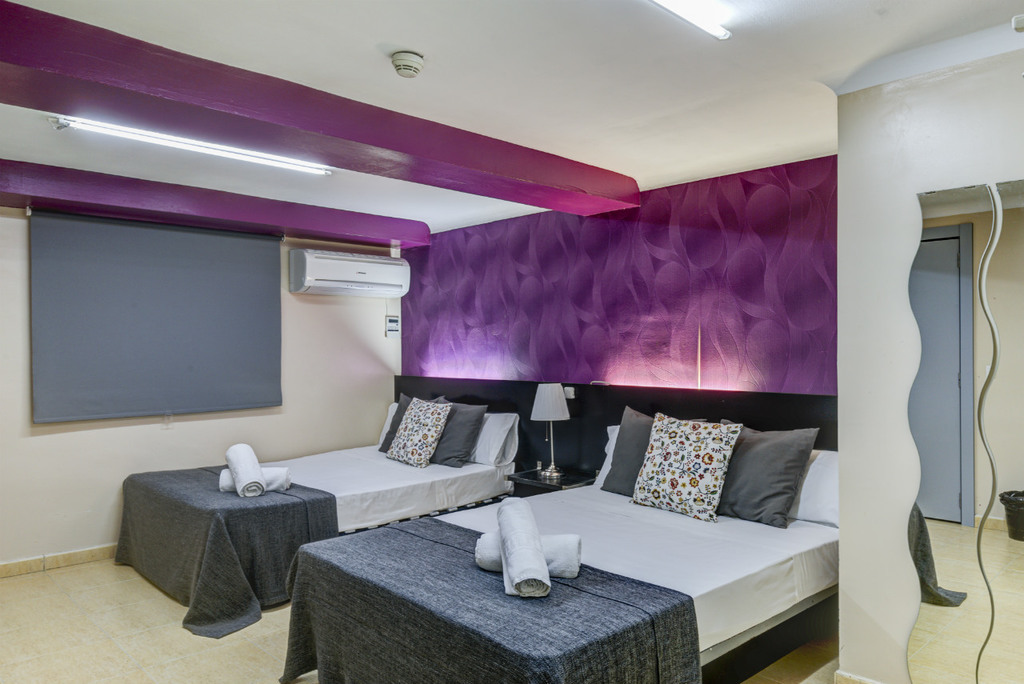 Triple (1 king bed and 1 single bed)