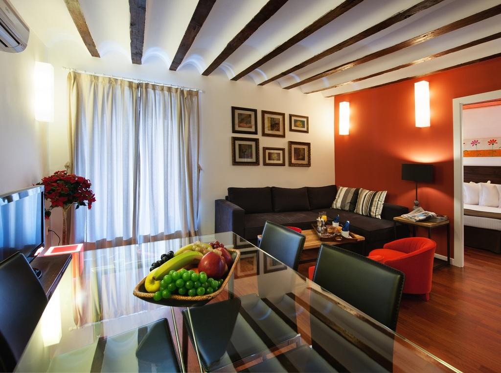 Apartamento 2 habitaciones (posibilidad sofá cama)