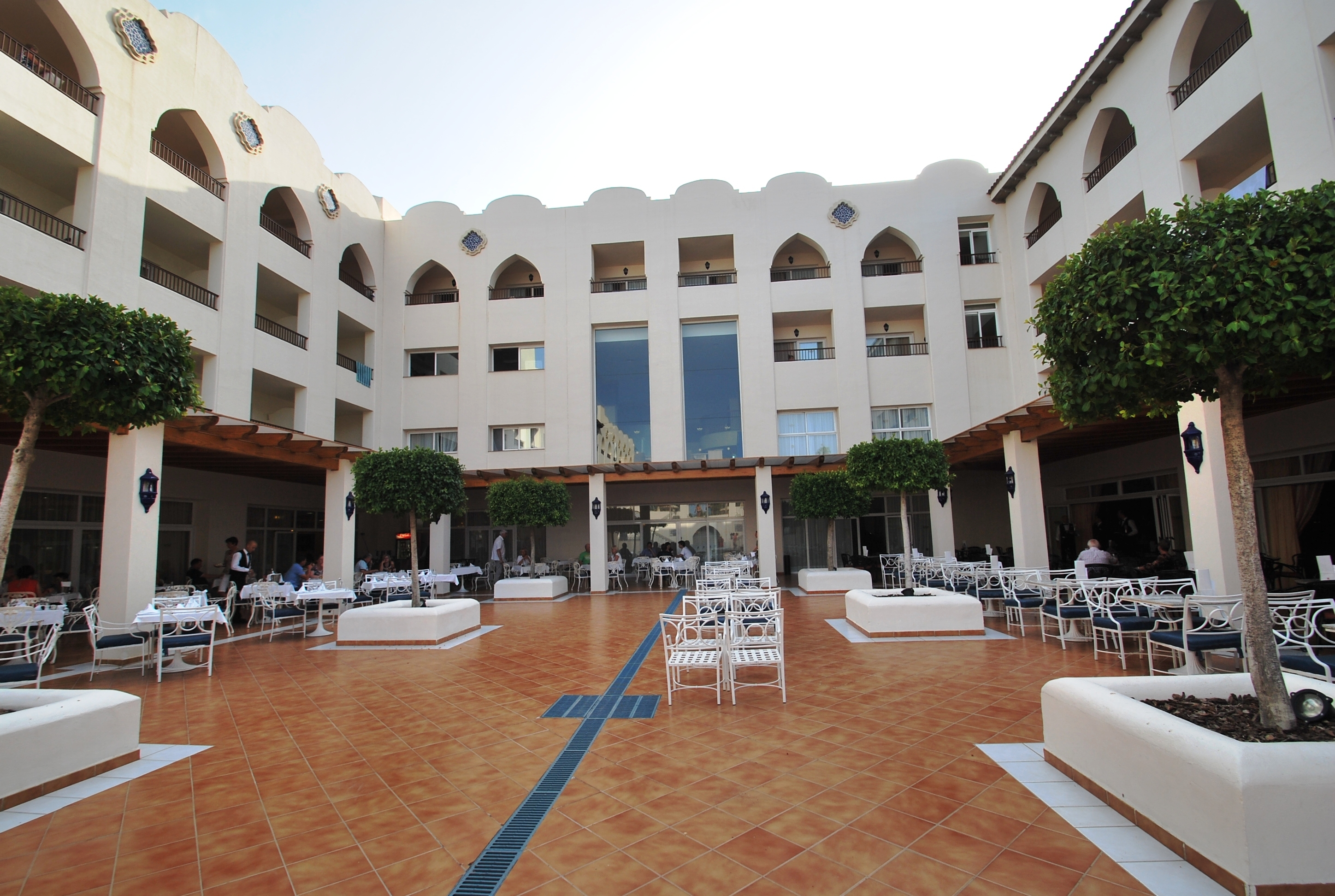 Double Andalusian Courtyard