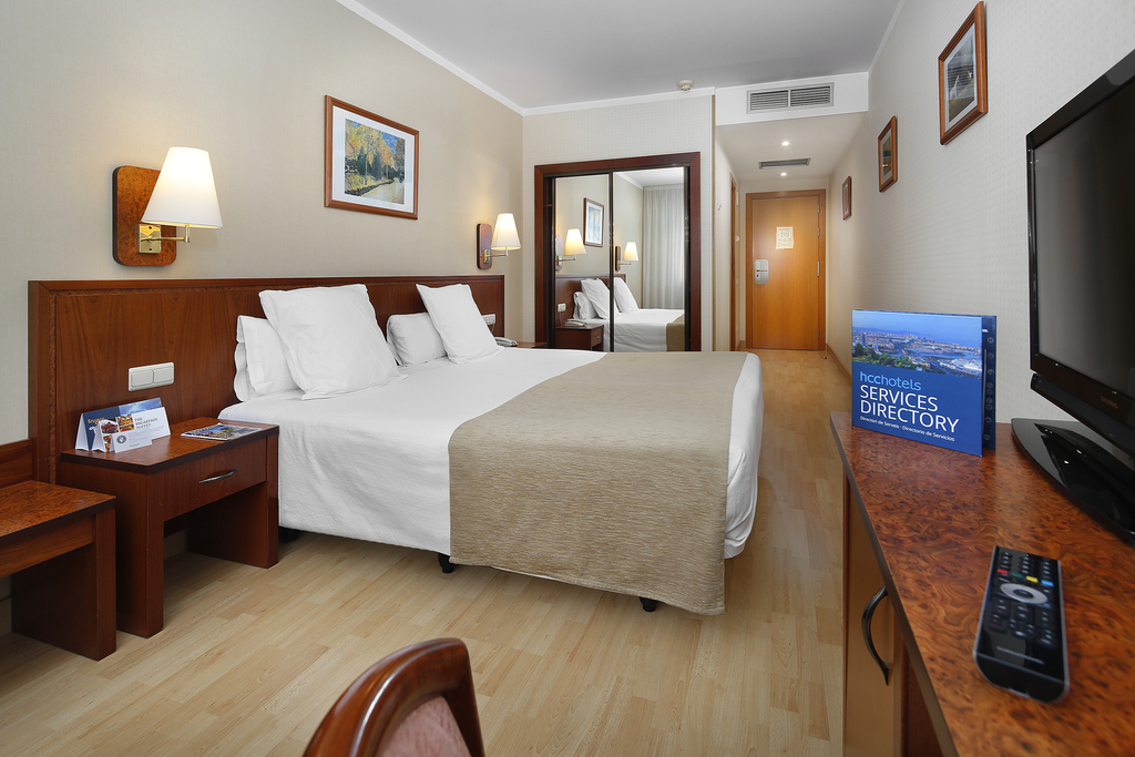 Double room Mobile World Congress