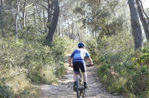 Estada amb bicicleta elèctrica