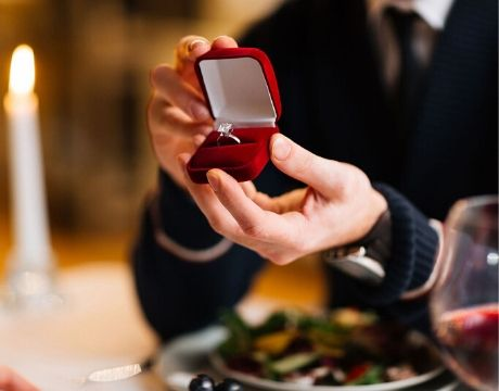 Ask for hand in marriage experience