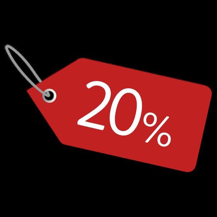 -20% offer