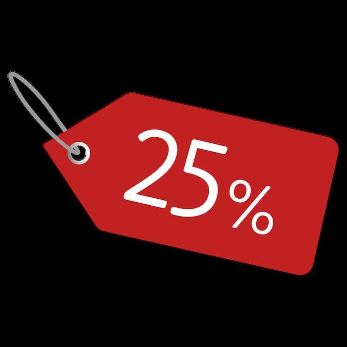 -25% Offer