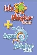 Isla Mágica + Agua Mágica 2 adultos