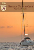 "SUNSET in ""LUXURY SAILBOAT"""