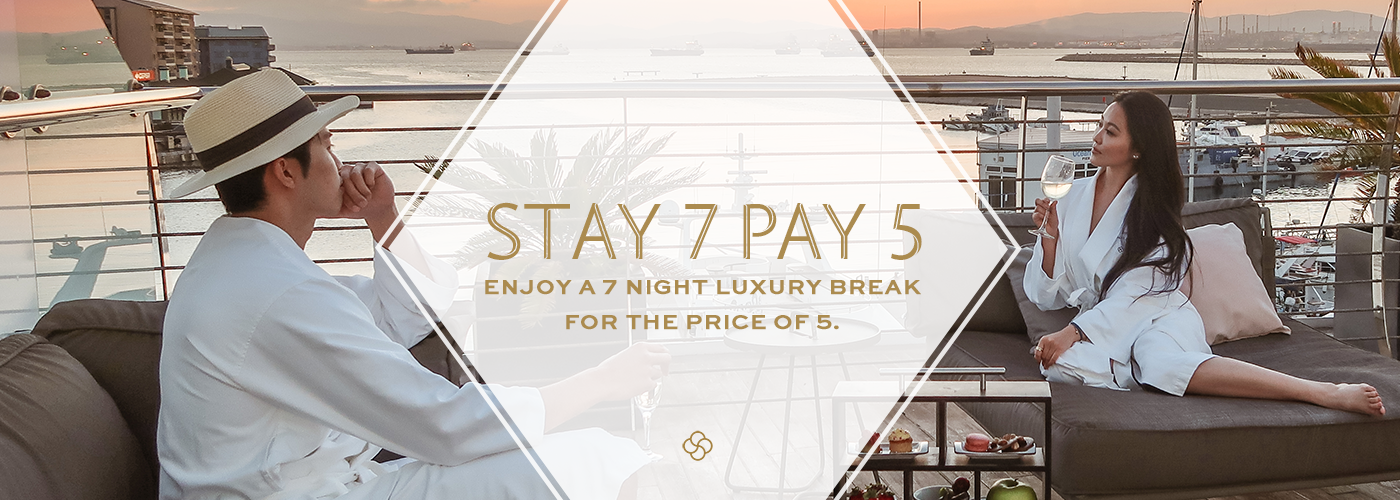 STAY 7 NIGHTS, PAY 5