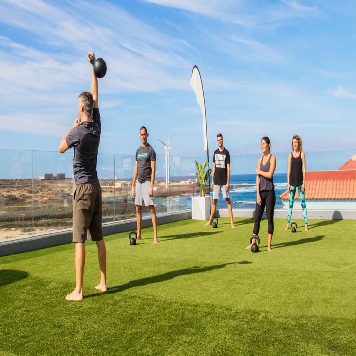 Training on your Holidays Corralejo Fuerteventura