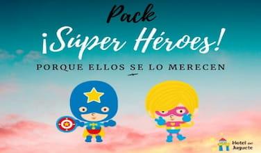Pack Superhéroes