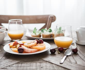 Complimentary Breakfast when booking directly with us