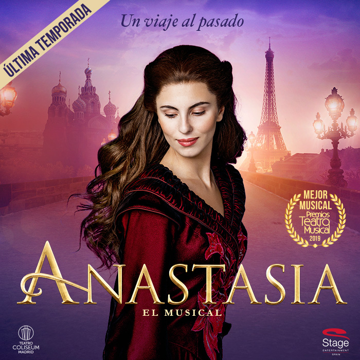 Anastasia Package with ticket included