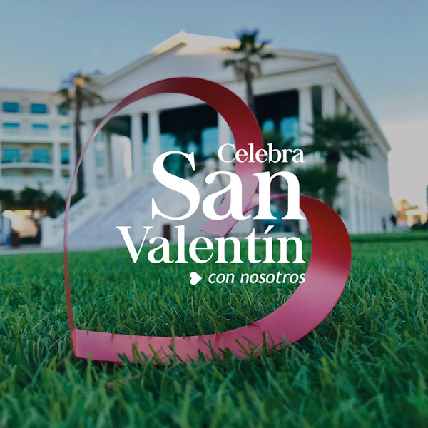 Celebrate San Valentine's Day with lovely sea views