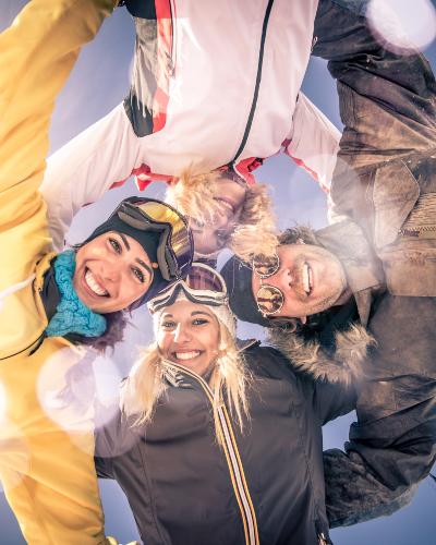 Familias + Amigos = Las mejores vacaciones