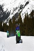 Hotel + snowmobile excursion (60 min)