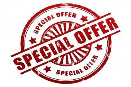 Offerta speciale web 10% di sconto