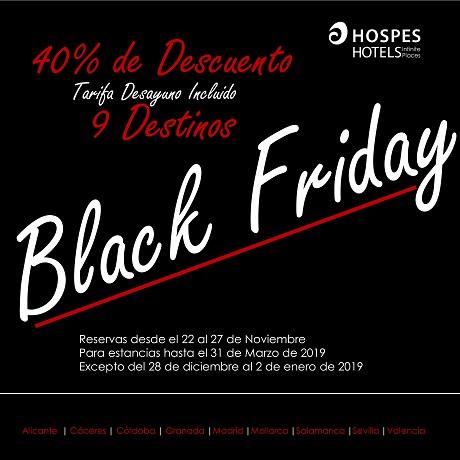 Black Friday Hospes Hoteles