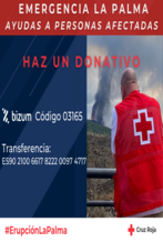 Solidarity Booking - We will donate 2% to Red Cross La Palma